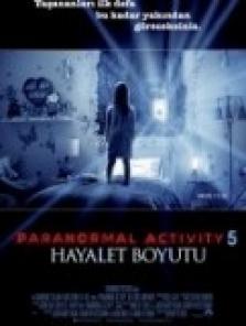 Paranormal Activity 5 Hayalet Boyutu full izle